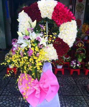 hoa chia buồn 49