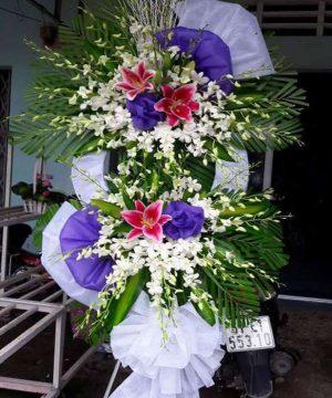 hoa chia buồn 51