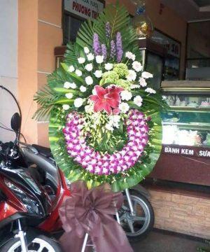 hoa chia buồn 54