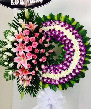hoa chia buồn 67