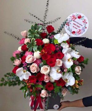 hoa sinh nhật 105