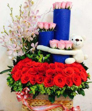 hoa sinh nhật 110