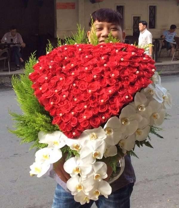 hoa sinh nhật 125