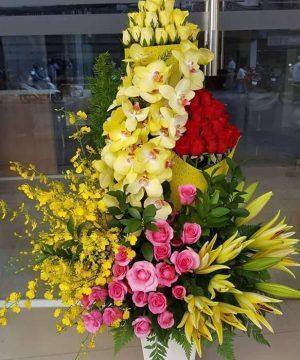 hoa sinh nhật 135