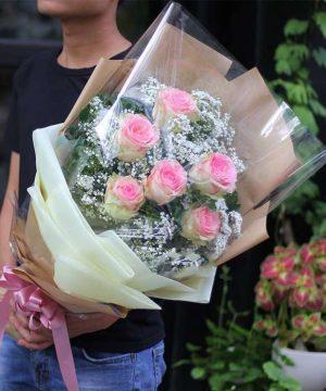hoa tình yêu 100