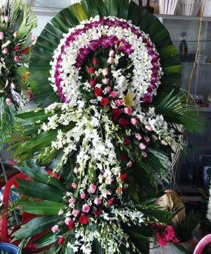 hoa chia buồn 107