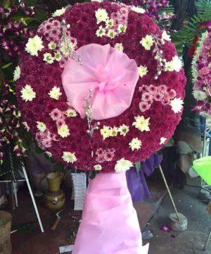 hoa chia buồn 108