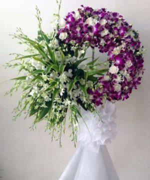 hoa chia buồn 113