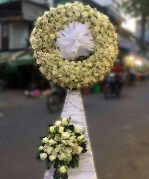 hoa chia buồn 114