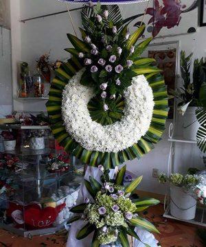 hoa chia buồn 117