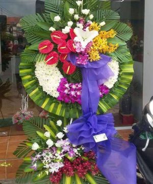 hoa chia buồn hcb 118