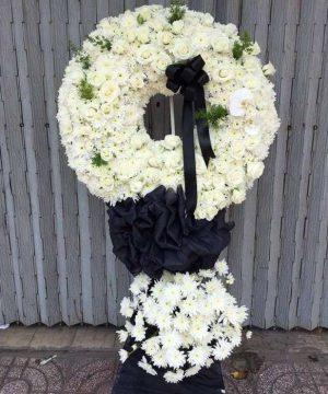 hoa chia buồn hcb 119