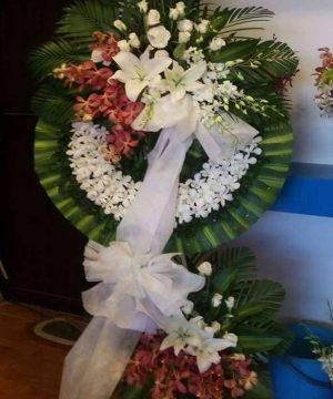 hoa chia buồn hcb 121