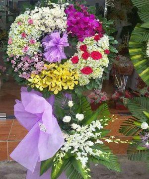 hoa chia buồn hcb 122