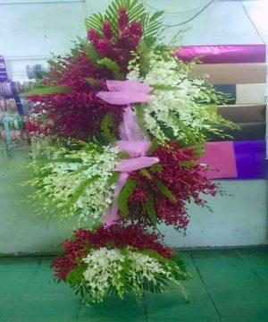 hoa chia buồn hcb 123