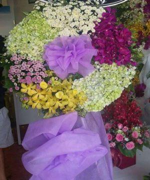 hoa chia buồn hcb 125