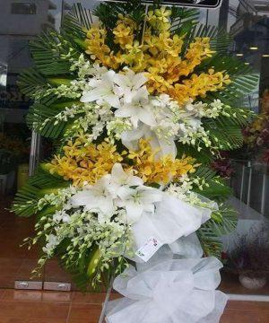 hoa chia buồn hcb 127