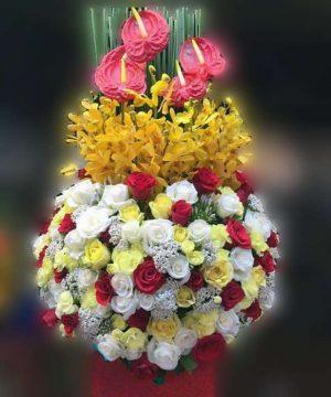hoa sinh nhật 136
