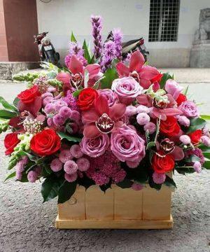 hoa sinh nhật 144