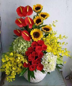 hoa sinh nhật 167