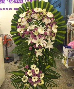 hoa chia buồn 144
