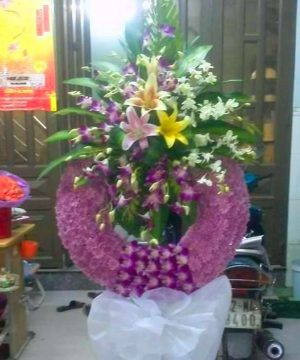 hoa chia buồn 148
