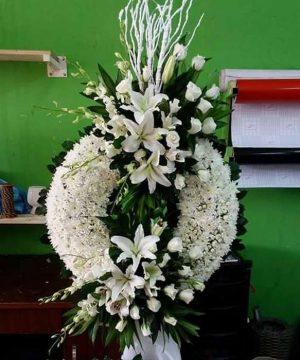 hoa chia buồn 150