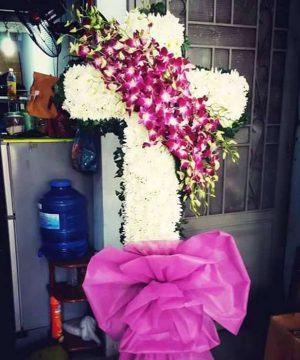 hoa chia buồn 151