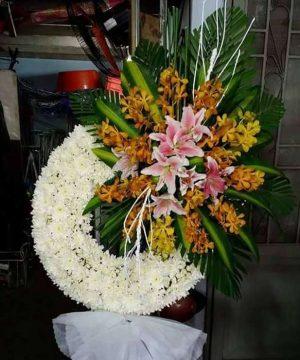 hoa chia buồn 152