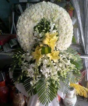 hoa chia buồn 153