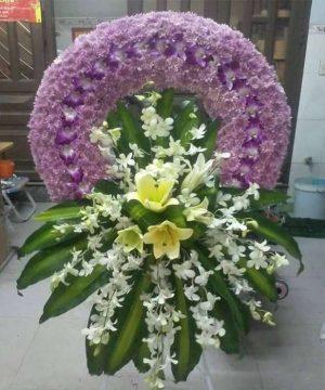 hoa chia buồn 155