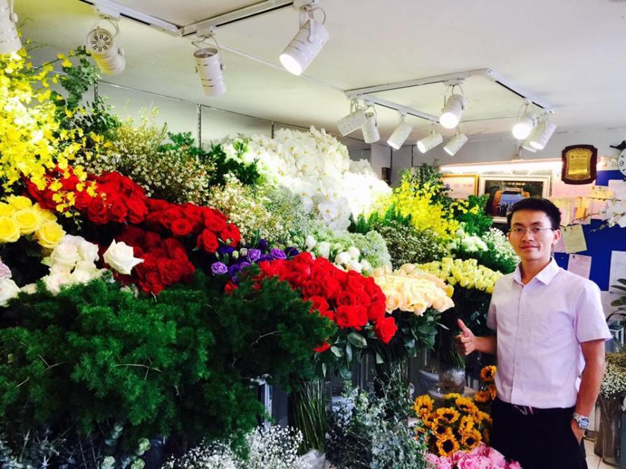 shop hoa tươi ở huyện củ chi