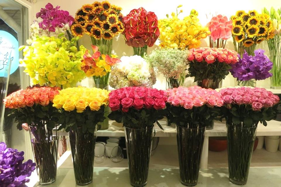 shop hoa tươi ở quận 6