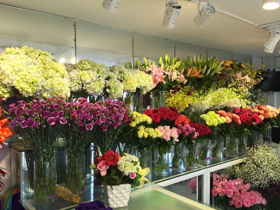 shop hoa tươi ở quận phú nhuận