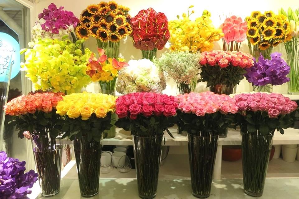 shop hoa tươi tại huyện hóc môn