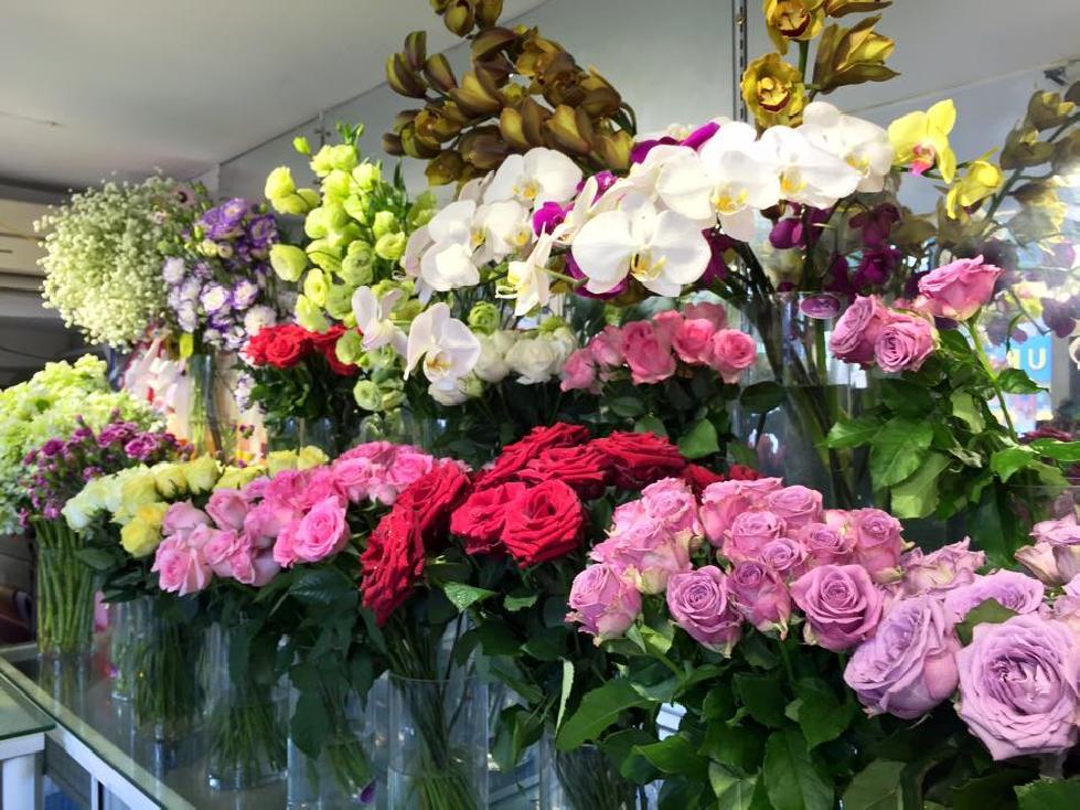 shop hoa tươi tại quận 2