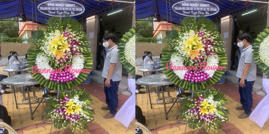 shop hoa tang lễ quận 4 HOA TƯƠI VĂN NAM