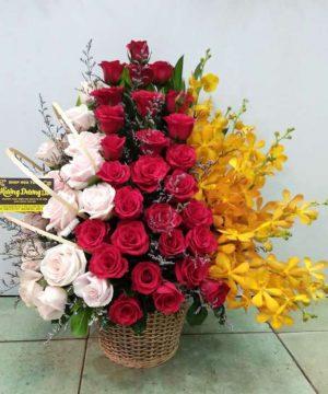 giỏ hoa tươi ght 41