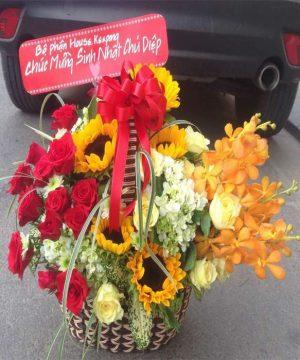 giỏ hoa tươi ght 44