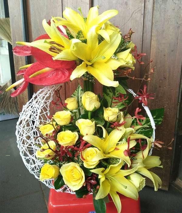 giỏ hoa tươi ght 45