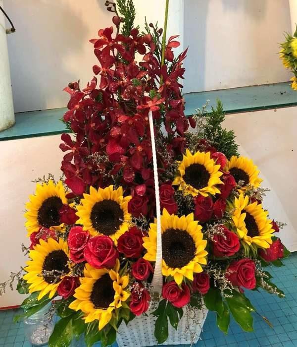 giỏ hoa tươi ght 40
