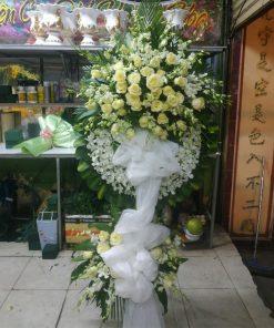 hoa chia buồn 205
