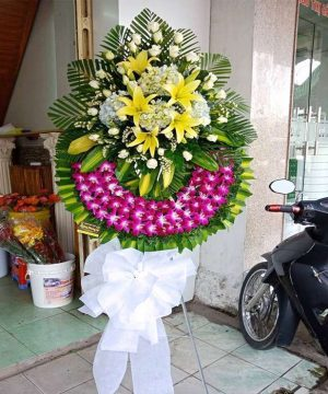 hoa chia buồn 206