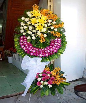hoa chia buồn 207
