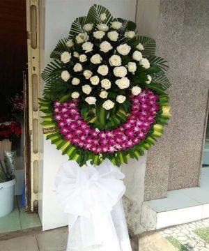 hoa chia buồn 209