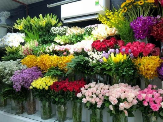 kinh doanh hoa tươi cần những gì