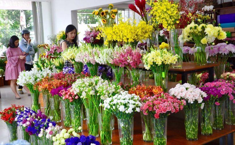 kinh nghiệm khi kinh doanh hoa tươi