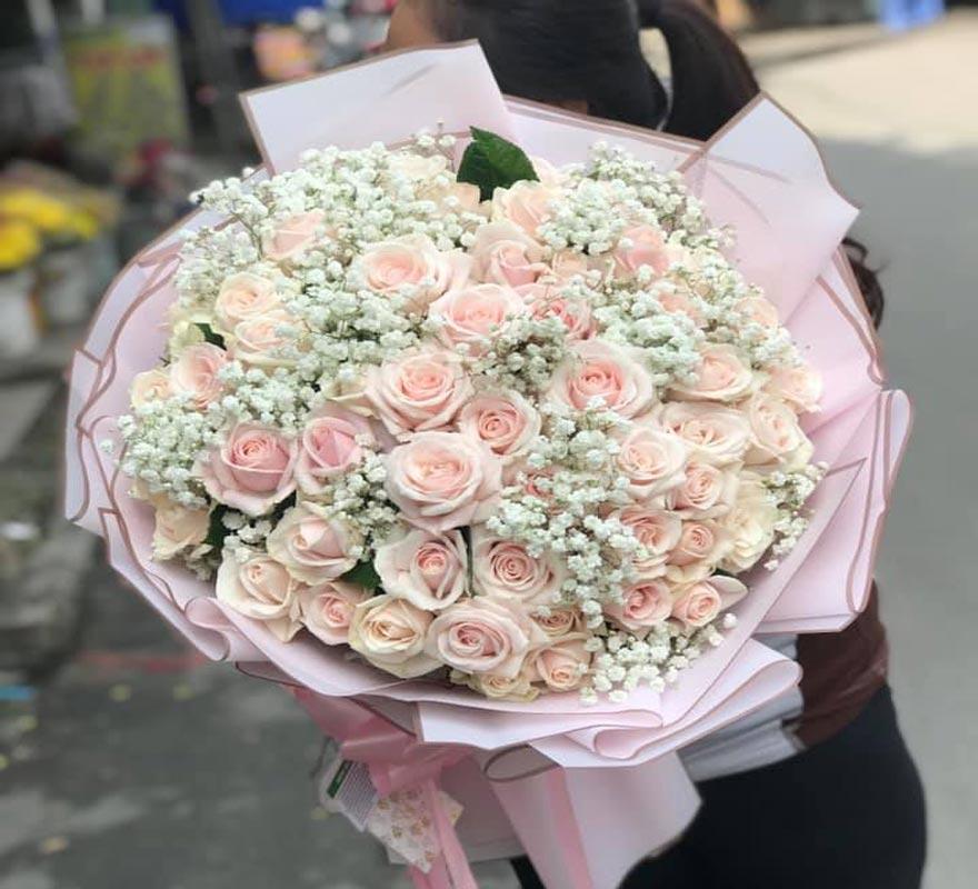 bó hoa tươi đẹp tại hồ thị kỷ quận 10