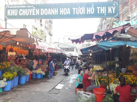 chợ hoa hồ thị kỷ 2020