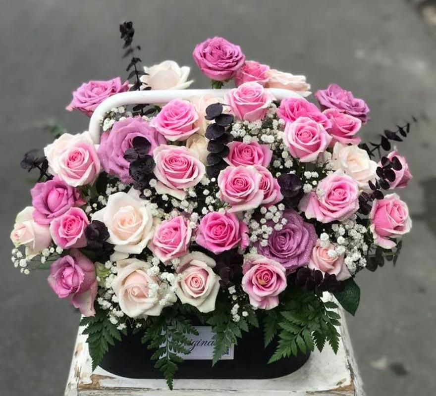 mẫu hoa đẹp tại chợ hồ thị kỷ quận 10